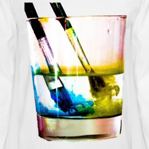 Paintbrushes - Men's Long Sleeve T-Shirt