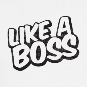 Like A Boss JustMarMar shirt - Men's Long Sleeve T-Shirt