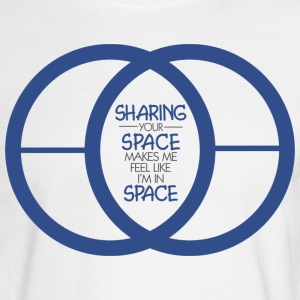 SHARING YOUR SPACE - Men's Long Sleeve T-Shirt
