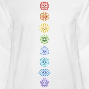 7 chakras - Men's Long Sleeve T-Shirt