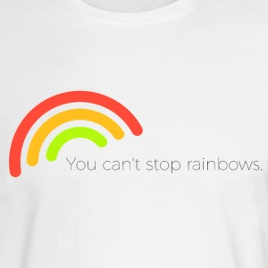 You can't stop rainbows - Men's Long Sleeve T-Shirt