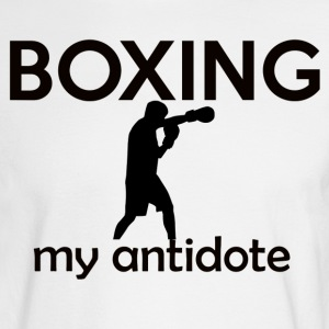 boxing design - Men's Long Sleeve T-Shirt