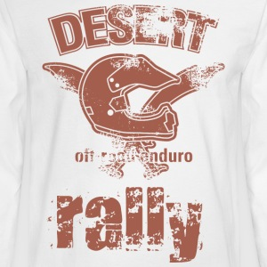 DESERT RALLY motocycle - Men's Long Sleeve T-Shirt