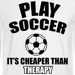 SOCCER DESIGNS - Men's Long Sleeve T-Shirt
