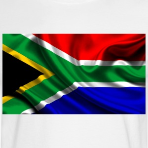 South-African-Flag - Men's Long Sleeve T-Shirt