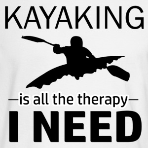 kayaking design - Men's Long Sleeve T-Shirt