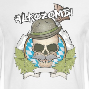 Alkozombie - Men's Long Sleeve T-Shirt