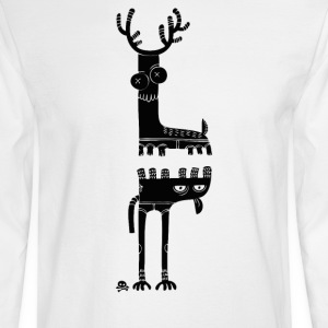 Two Beasts - Men's Long Sleeve T-Shirt