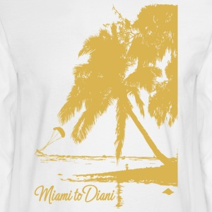 Miami To Diani Gold Collection - Men's Long Sleeve T-Shirt