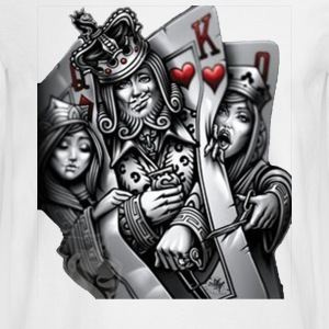 card poker - Men's Long Sleeve T-Shirt