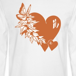 Valentine Hearts - Men's Long Sleeve T-Shirt