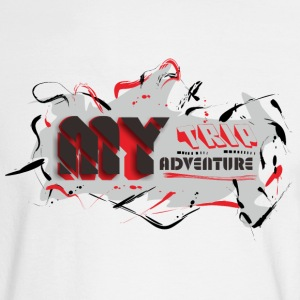 MY TRIP MY ADVENTURE - Men's Long Sleeve T-Shirt