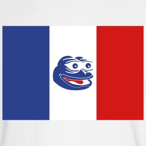 French Pepe the Frog - Men's Long Sleeve T-Shirt