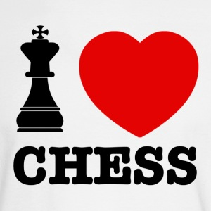 chess love - Men's Long Sleeve T-Shirt