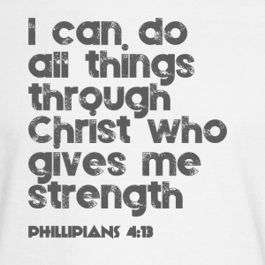 I can do all things through Christ - Men's Long Sleeve T-Shirt