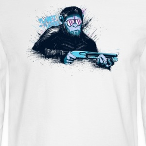 Ape War - Men's Long Sleeve T-Shirt