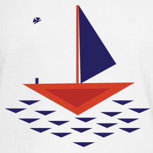 Boat abstract - Men's Long Sleeve T-Shirt