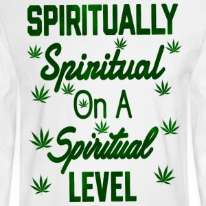 Spiritually Spiritual on a Spiritual Level - Men's Long Sleeve T-Shirt
