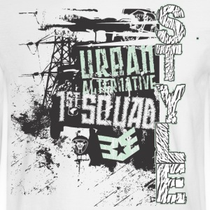 Urban style 1st Squad - Men's Long Sleeve T-Shirt
