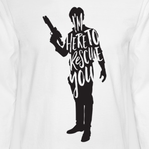 Han Solo quote t shirt design JLane Design Teepubl - Men's Long Sleeve T-Shirt