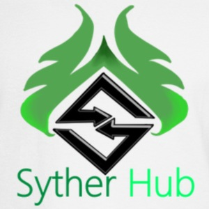 SytherHub Logo - Men's Long Sleeve T-Shirt