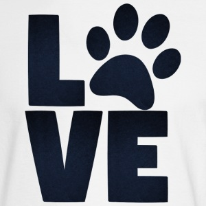 Love Pets Paw Cat Dog Cute - Men's Long Sleeve T-Shirt