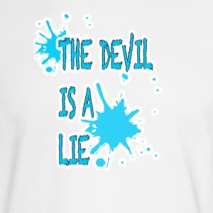 Devil is a lie - Men's Long Sleeve T-Shirt