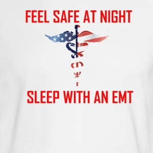 Feel safe sleep with an emt - Men's Long Sleeve T-Shirt