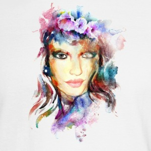 Watercolor Girl - Men's Long Sleeve T-Shirt
