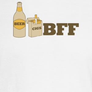 Beer And Cigs Best Friends Forever - Men's Long Sleeve T-Shirt
