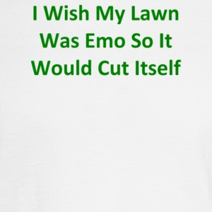 I Wish My Lawn Was Emo So It Would Cut Itself - Men's Long Sleeve T-Shirt