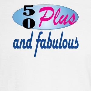 50 plus and fab - Men's Long Sleeve T-Shirt