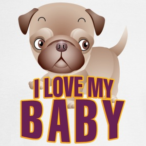 I love my baby 2 - Men's Long Sleeve T-Shirt