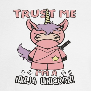 Trust me I m a NINJA UNICORN - Men's Long Sleeve T-Shirt