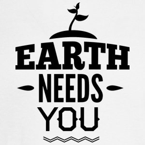 EARTH_NEED_YOU - Men's Long Sleeve T-Shirt