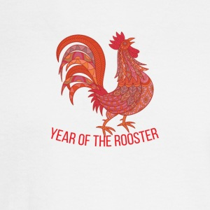 Year of Rooster - Happy new year 2017 - Men's Long Sleeve T-Shirt