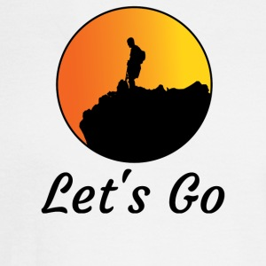 Let s Go Tee T-Shirt - Men's Long Sleeve T-Shirt