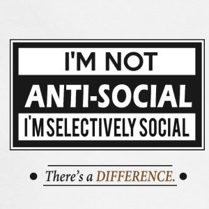 I'm not Anti-social - Men's Long Sleeve T-Shirt