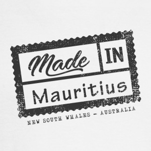 Made In Mauritius Stamp - New South Whales - Men's Long Sleeve T-Shirt