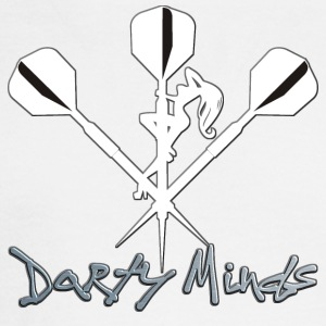 Darty Minds Darts Shirt - Men's Long Sleeve T-Shirt
