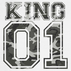King_01_camo_1 - Men's Long Sleeve T-Shirt