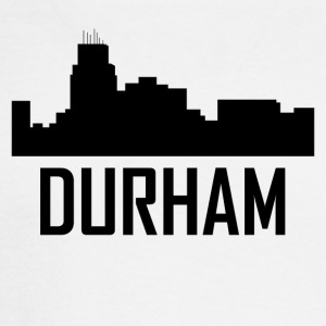 Durham North Carolina City Skyline - Men's Long Sleeve T-Shirt