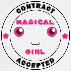 Magical Girl Contract Accepted - Men's Long Sleeve T-Shirt
