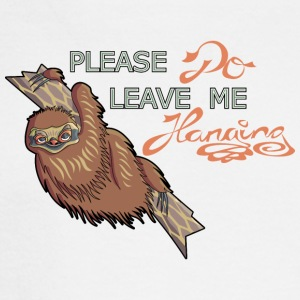 Please do leave me hanging - Men's Long Sleeve T-Shirt