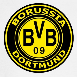 borussia-dortmund-logo-wallpaper - Men's Long Sleeve T-Shirt