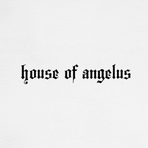 house of angelus (writing) - Men's Long Sleeve T-Shirt
