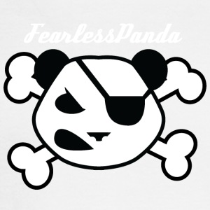 Fearless Panda - Men's Long Sleeve T-Shirt