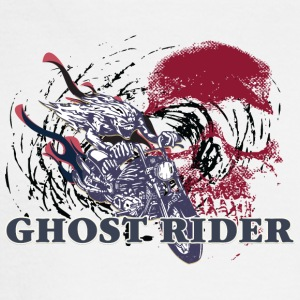 GHOST_RIDER_RED_SKULL - Men's Long Sleeve T-Shirt
