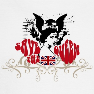 SAVE THE QUEEN - Men's Long Sleeve T-Shirt
