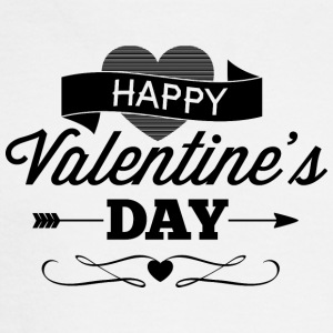 happy_valentine-s_day - Men's Long Sleeve T-Shirt